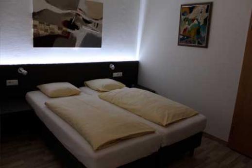 De nouvelles chambres modernes